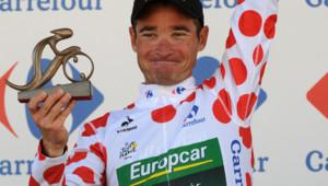 Thomas Voeckler après la 10e étape du Tour de France 2012