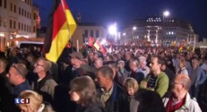 Allemagne : le mouvement Pegida réuni à Dresde pour dénoncer la politique d'accueil des migrants