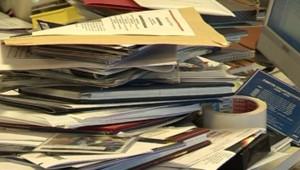 désordre bureau travail organisation