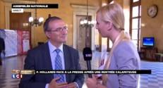 """Hervé Mariton veut de la """"clarté"""" sur la politique économique du gouvernement"""