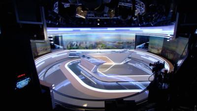 Nouveau plateau des JT de TF1, 27 août 2015