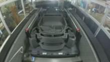 Une voiture imprimée en 3D à Detroit.