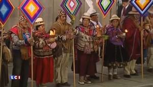 En Bolivie, le drôle de cadeau du président Morales au pape François