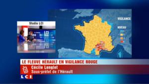 Hérault : après une nuit agitée, la décrue est amorcée