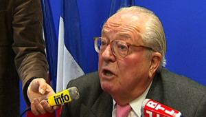 Jean-Marie Le Pen FN Front national