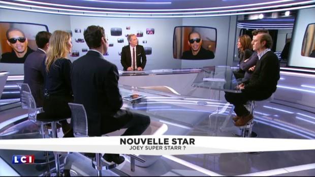 L'arrivée de JoeyStarr dans la Nouvelle Star commentée par les autres membres du jury