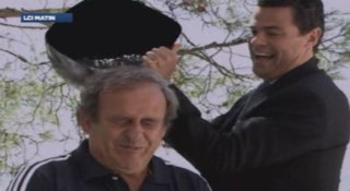 Michel Platini relève le Ice Bucket challenge !