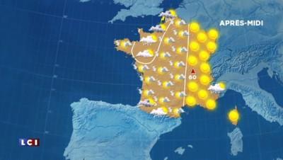 Météo : la chaleur accablante se décale progressivement vers l'Est