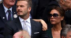 Victoria et David Beckham.