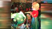 Carnaval de Nice : un char à l'effigie d'Évelyne Dhéliat !