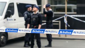 Des policiers dans les rues de Bruxelles
