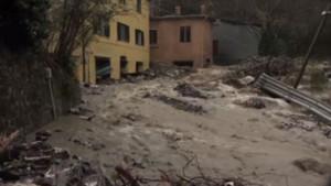 Glissement de terrain en Italie