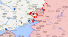 Le site Live UA Map permet de visualiser le conflit ukrainien évènement par évènement.