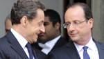 Nicolas Sarkozy et François Hollande, en mai 2012.