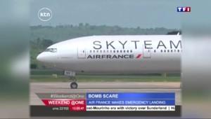 Un vol d'Air France atterrit d'urgence au Kenya après une alerte à la bombe
