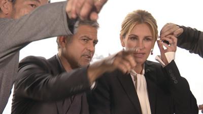 George Clooney et Julia Roberts mercredi 11 mai à Cannes.