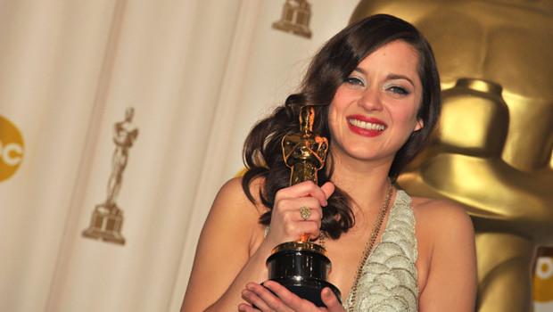 Marion Cotillard aux Oscars