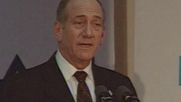 TF1/LCI Ehud Olmert premier ministre israélien lundi à Jérusalem