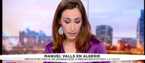 Valls à Alger, quatre médias français boycottent le voyage officiel