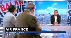 """Air France : """"La violence doit être inacceptable dans les relations syndicales"""""""