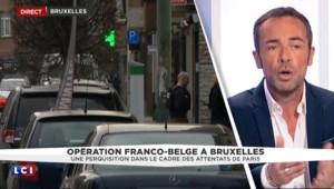 Bruxelles : des armes automatiques, des chargeurs et des traces d'explosifs retrouvés dans l'appartement