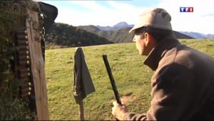 Le 13 heures du 25 octobre 2013 : La chasse �a palombe est victime de son succ��agn�s-de-Bigorre - 1252.73