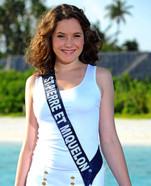 Miss Saint Pierre et Miquelon 2010 - Léa Harnett - Election candidate Miss France 2011- © SIPA - Interdit à toute reproduction, téléchargement ou stockage