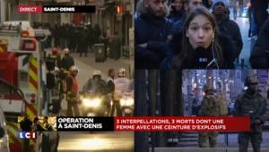 """Assaut à Saint-Denis : """"Retour d'un certain calme"""", selon notre envoyée spéciale"""
