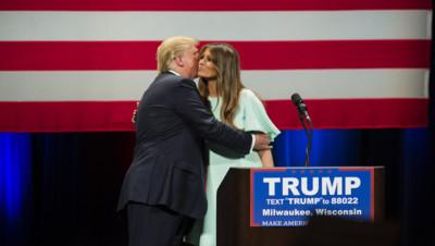 Donald Trump Melania Trump Etats-Unis élections républicains