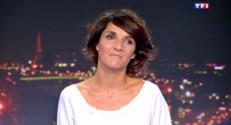 Florence Foresti, le 22 septembre 2014, sur TF1