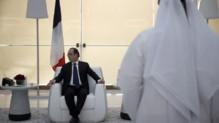 François Hollande au Qatar, le 4/5/15