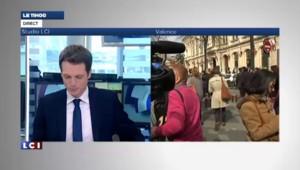 """Valls : """"Sarkozy veut tout casser pour échapper à la justice"""""""