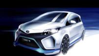 Toyota Hybrid-R, concept-car de Yaris de 400 ch présenté dans le cadre du Salon de Francfort 2013