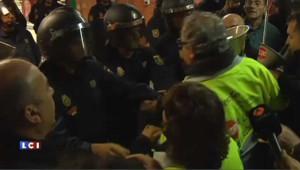 Grève contre l'austérité : heurts entre manifestants et policiers à Madrid