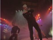 Jean-Paul Gaultier sur le plateau du Jacky Show en 1989.
