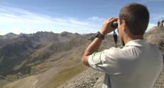 Le 13 heures du 18 septembre 2014 : Rencontre en montagne (4/5) : Anthony, garde du parc national du Mercantour - 2191.4049999999997