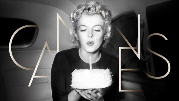 Marilyn Monroe effigie de la 65e édition du festival de Cannes.