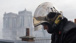 pompiers incendie rue de la huchette Paris Notre-Dame de Paris