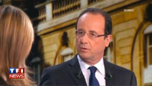 Hollande répond aux attaques de Sarkozy sur sa compagne