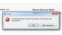 L'erreur 53 a condamné de nombreux iPhone 6.