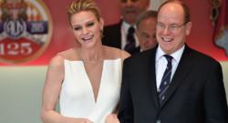 Le prince Albert et la princesse Charlène au Grand Prix de Monaco le 24 mai 2015