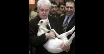 Lionel Jospin au salon de l'Agriculture en 2002.