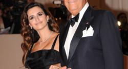 Oscar de la Renta en compagnie de Penélope Cruz au MET Gala en 2011