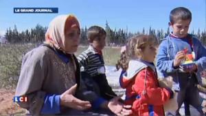 Syrie : les habitants fuient vers le Liban