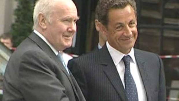 TF1-LCI Nicolas Sarkozy et John Reid à Londres
