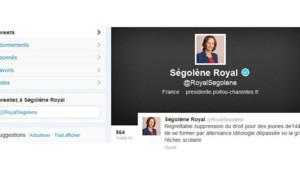 """Alternance : quand Royal tweete sur """"l'idéologie dépassée"""" de Hollande"""