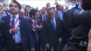 Le 13 heures du 13 juin 2015 : Accueil mitigé pour le président Hollande à l'occasion des 24H du Mans - 178
