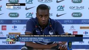 """Mondial 2014. Blaise Matuidi : """"On a le souhait de marquer l'histoire"""""""