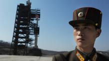 Corée du Nord Fusée