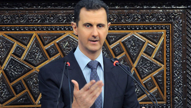 Le prsident syrien Bachar al-Assad.